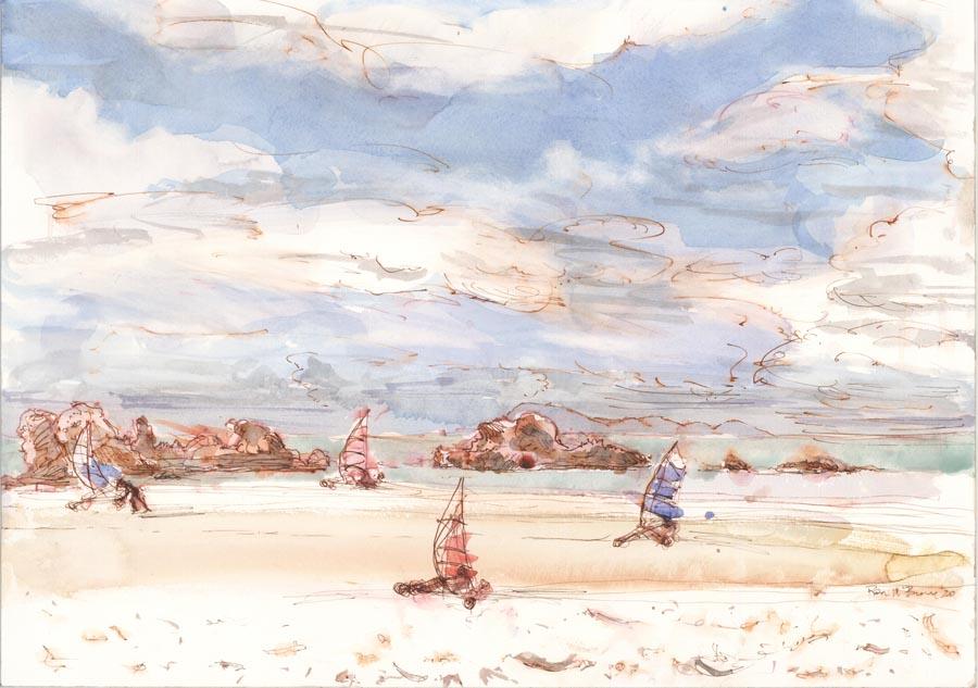 Sailing on Sand, Cape Hillsborough