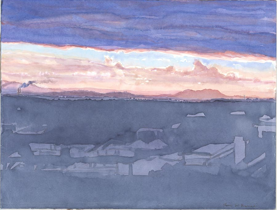 Mackay skyline