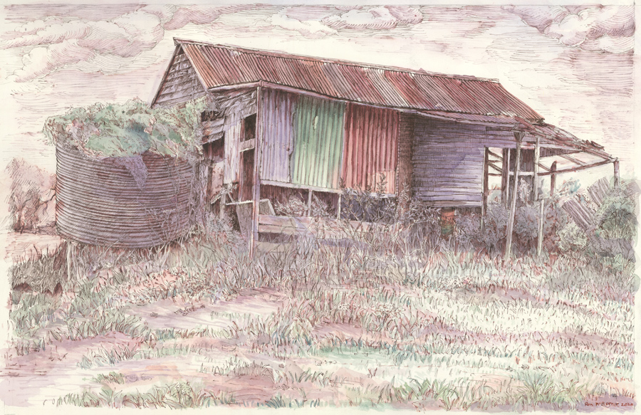 Old Shed on the Road to Seaforth
