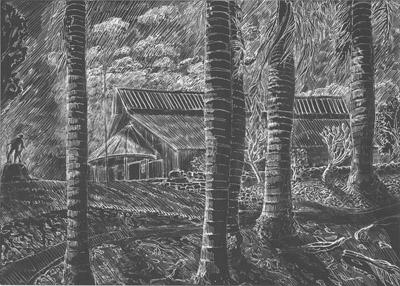 Australian South Sea Islander Lagoons Meeting Hut